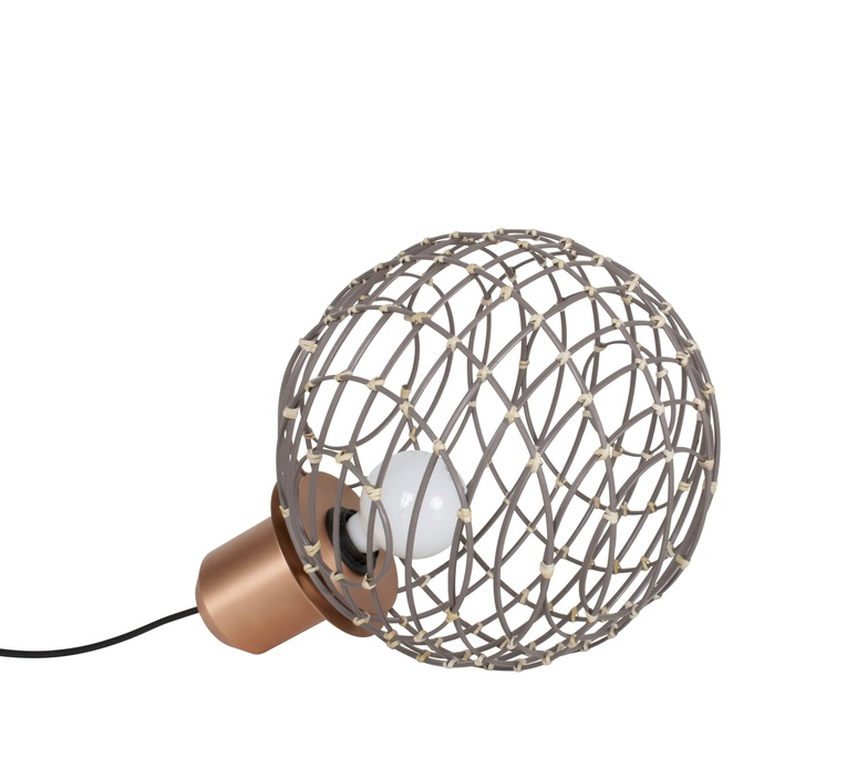 Sphere bamboo m arik levy lampe a poser table lamp  forestier 20921  design signed 42749 product