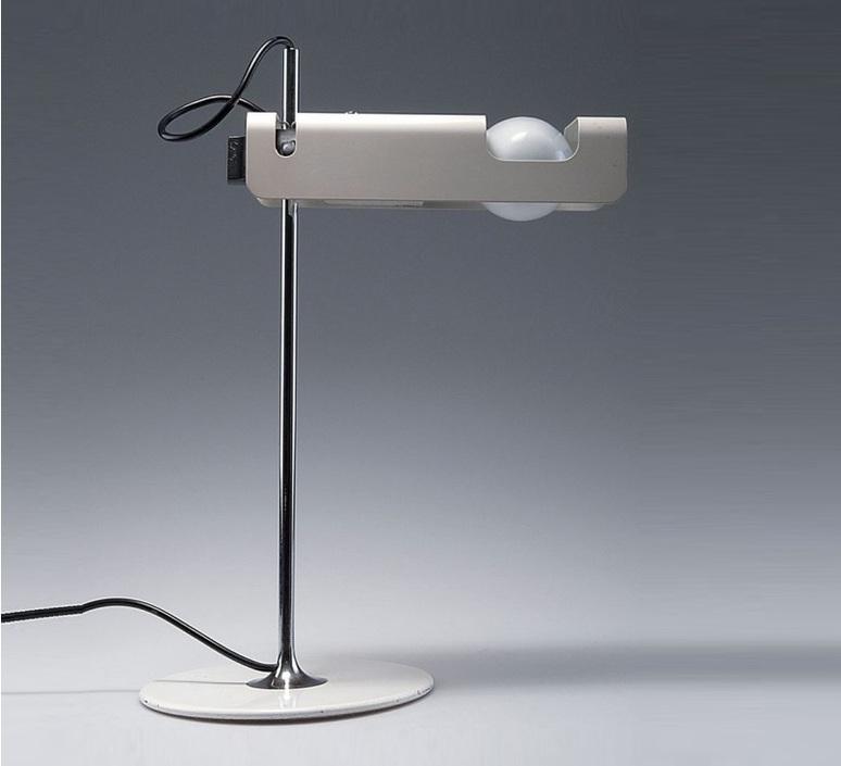 Spider joe colombo oluce 291 blanc luminaire lighting design signed 22431 product