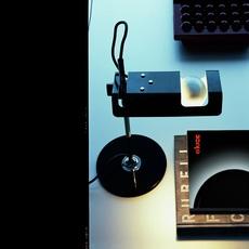 Spider joe colombo oluce 291 noir luminaire lighting design signed 22445 thumb