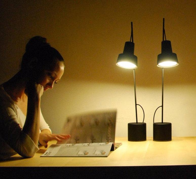 Spot table lamp  nir meiri lampe a poser table lamp  nir meiri spot tablelampmattblack  design signed 56805 product