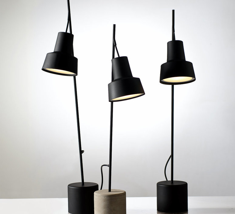 Spot table lamp  nir meiri lampe a poser table lamp  nir meiri spot tablelampmattblack  design signed 56806 product