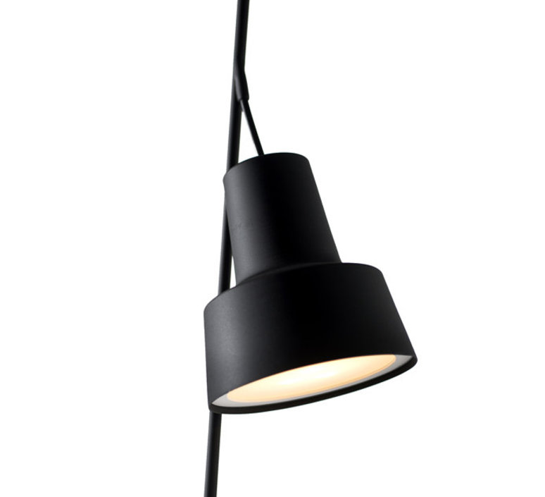 Spot table lamp  nir meiri lampe a poser table lamp  nir meiri spot tablelampmattblack  design signed 56807 product