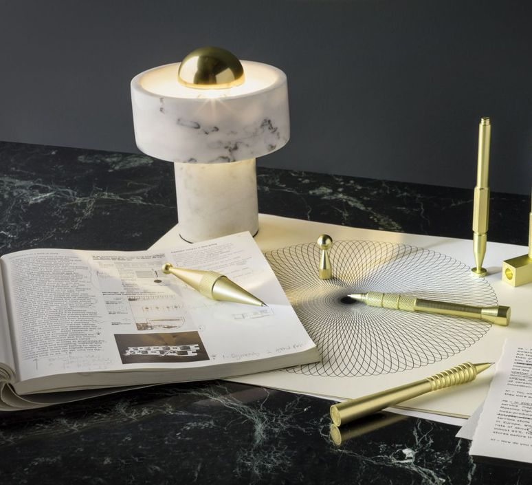 Stone  lampe a poser table lamp  tom dixon stt01eu  design signed 38391 product