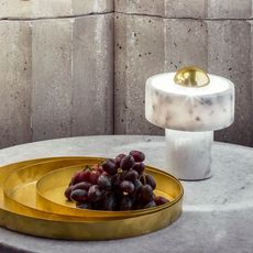 Stone  lampe a poser table lamp  tom dixon stt01eu  design signed 38392 thumb