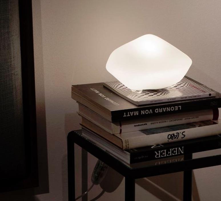 Stone of glass laudani et romanelli oluce 202 luminaire lighting design signed 22475 product