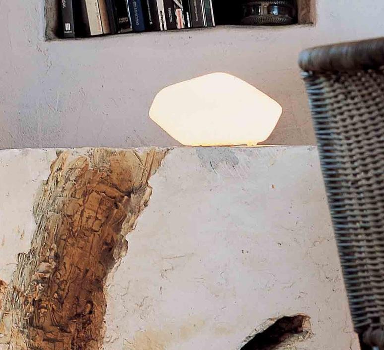 Stone of glass laudani et romanelli oluce 202 luminaire lighting design signed 22476 product