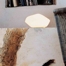 Stone of glass laudani et romanelli oluce 202 luminaire lighting design signed 22476 thumb