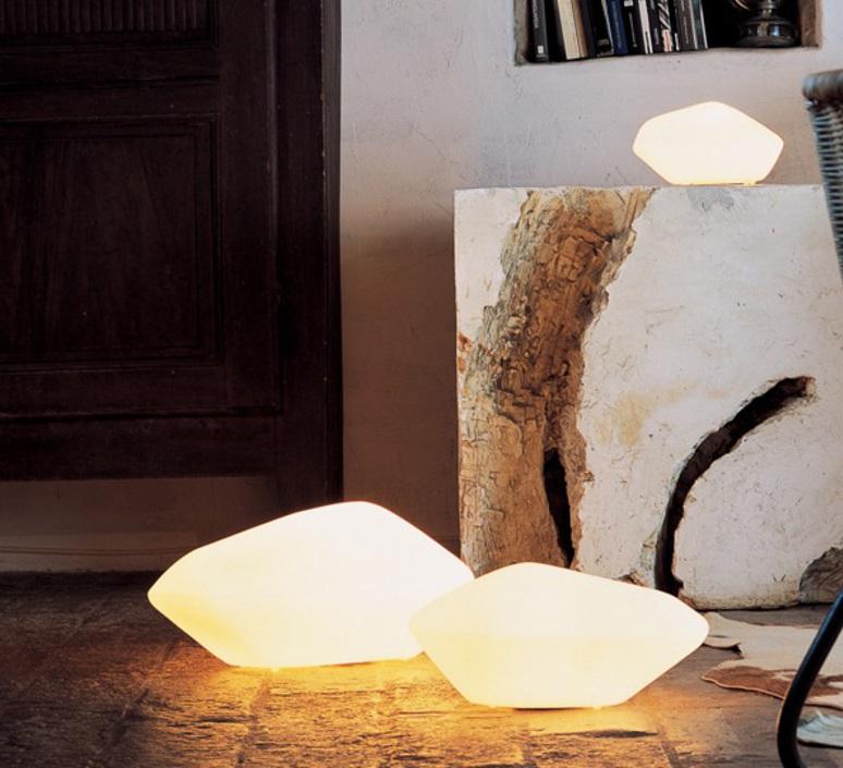 Stone of glass laudani et romanelli oluce 203 luminaire lighting design signed 22483 product