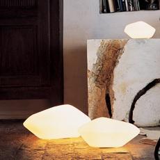 Stone of glass laudani et romanelli oluce 203 luminaire lighting design signed 22483 thumb