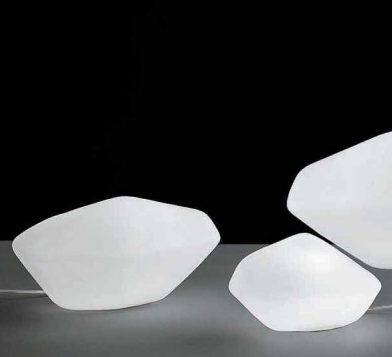 Stone of glass laudani et romanelli oluce 203 luminaire lighting design signed 22485 product