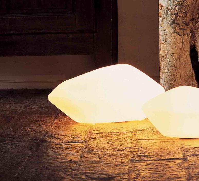 Stone of glass laudani et romanelli oluce 204 luminaire lighting design signed 22488 product