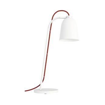 Lampe a poser summera blanc o13cm h49 8cm shapes normal