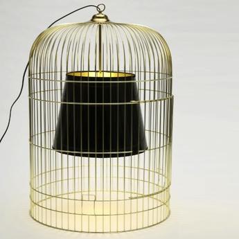 Lampe a poser sunset mm laiton noir h55cm o39cm ascete normal