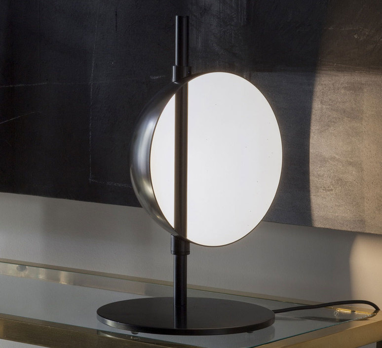 Superluna 297 victor vasilev lampe a poser table lamp  oluce superluna297  design signed 40585 product