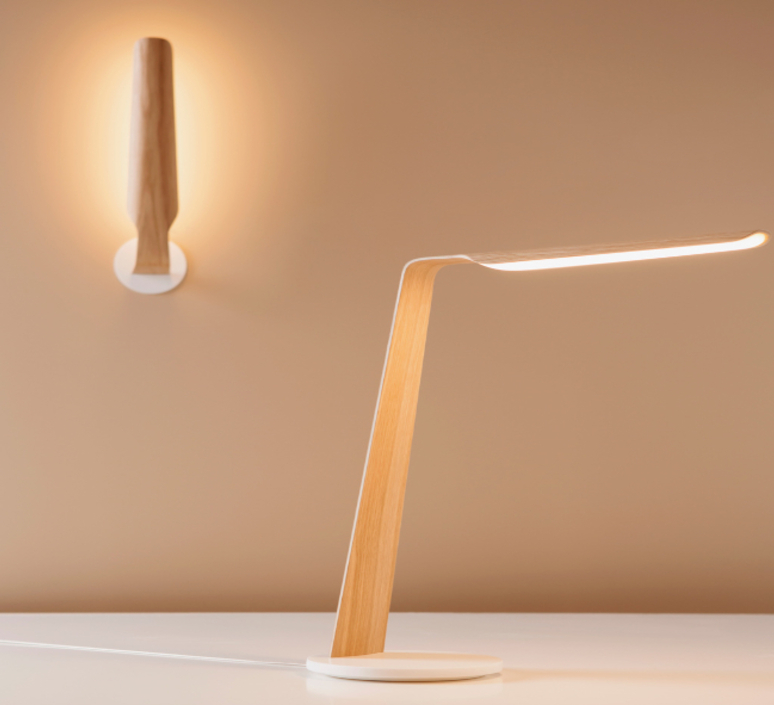 Swan mikko karkkainen tunto swan table birch luminaire lighting design signed 12295 product
