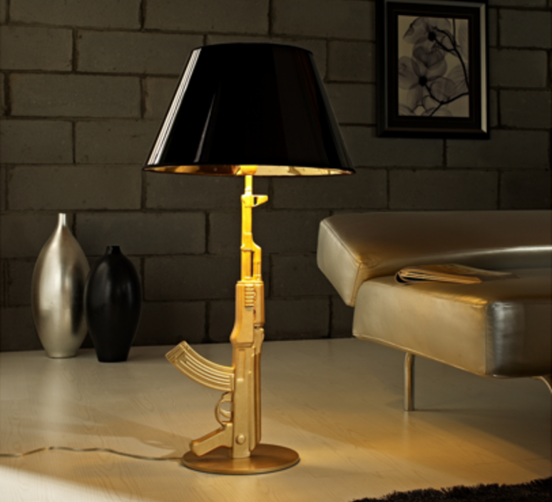 Table gun philippe starck lampe a poser table lamp  flos f2954000   design signed 35190 product
