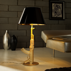 Table gun philippe starck lampe a poser table lamp  flos f2954000   design signed 35190 thumb