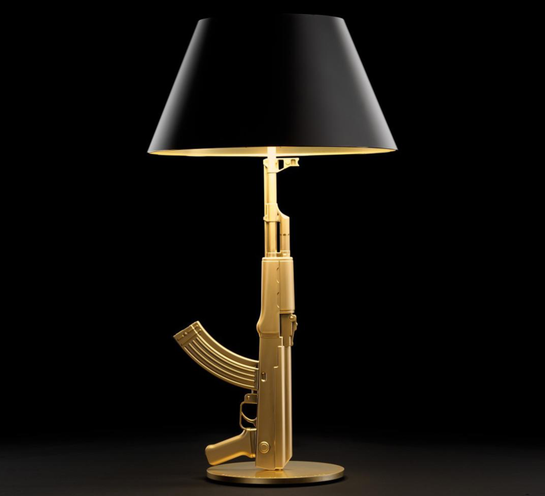 Table gun philippe starck lampe a poser table lamp  flos f2954000   design signed 35192 product