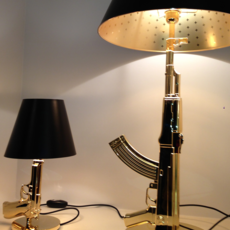Table gun philippe starck lampe a poser table lamp  flos f2954000   design signed 35193 thumb