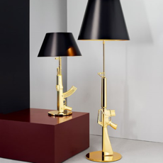 Table gun philippe starck lampe a poser table lamp  flos f2954000   design signed 35195 thumb