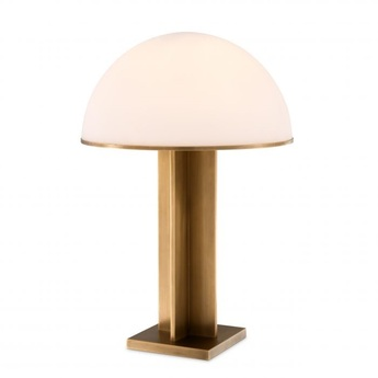 Lampe a poser table lamp berkley laiton verre l40 5cm h63 5cm eichholtz normal