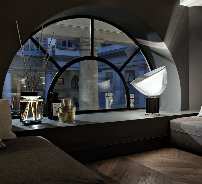 Taccia achille castiglioni lampe a poser table lamp  flos f6602030  design signed nedgis 126683 product