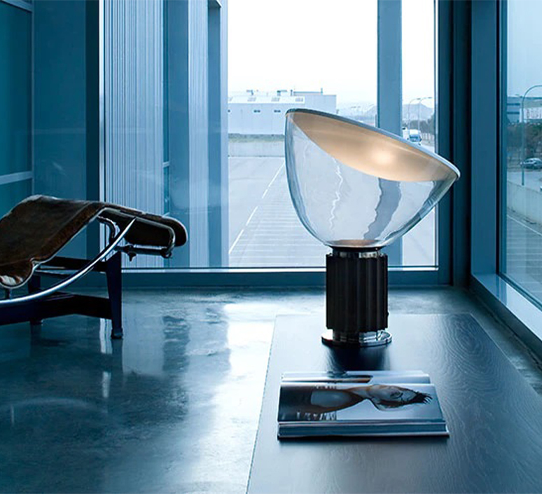 Taccia achille castiglioni lampe a poser table lamp  flos f6602030  design signed nedgis 126686 product