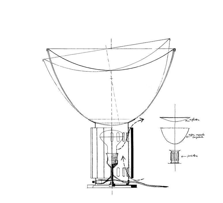 Taccia small achille castiglioni lampe a poser table lamp  flos f6604030  design signed nedgis 126751 product