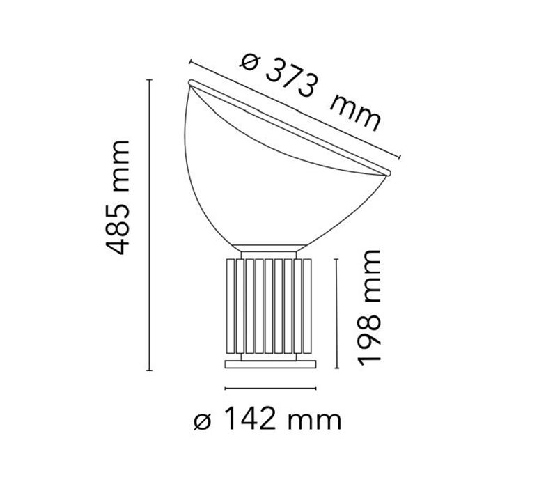 Taccia small achille castiglioni lampe a poser table lamp  flos f6604030  design signed nedgis 126752 product