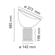 Taccia small achille castiglioni lampe a poser table lamp  flos f6604030  design signed nedgis 126752 thumb
