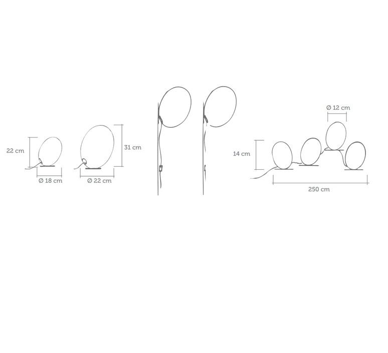 Tamago celine wright celine wright tamago guirlande luminaire lighting design signed 18898 product