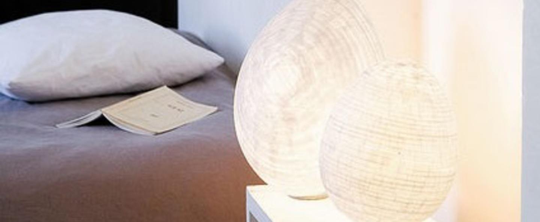 Lampe a poser tamago blanc h18cm celine wright normal