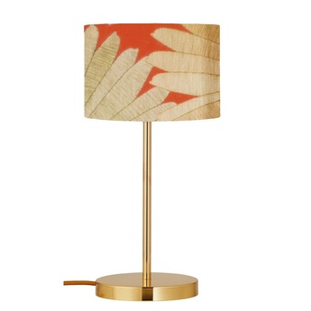 Lampe a poser tango orange o17 5cm h49cm ebb flow normal
