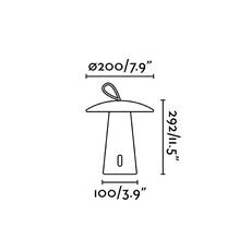 Task led lampe portable studio faro lampe a poser table lamp  faro 70914  design signed nedgis 109363 thumb