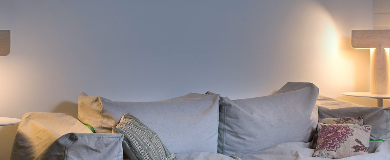 Lampe a poser teelo 8020 bois blanc led o33cm h38cm secto design normal