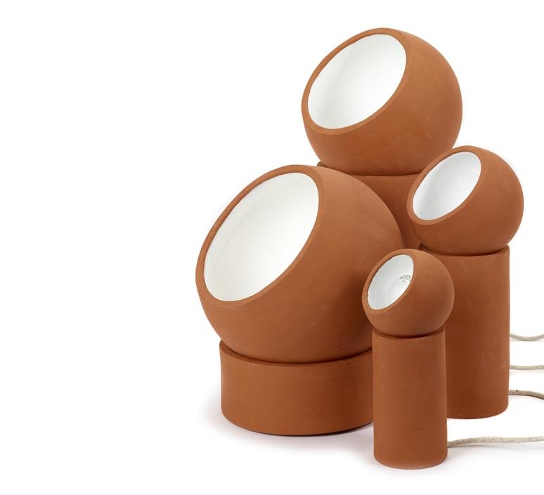 Terra light s lauren van driessche lampe a poser table lamp  serax b7218001  design signed 59824 product