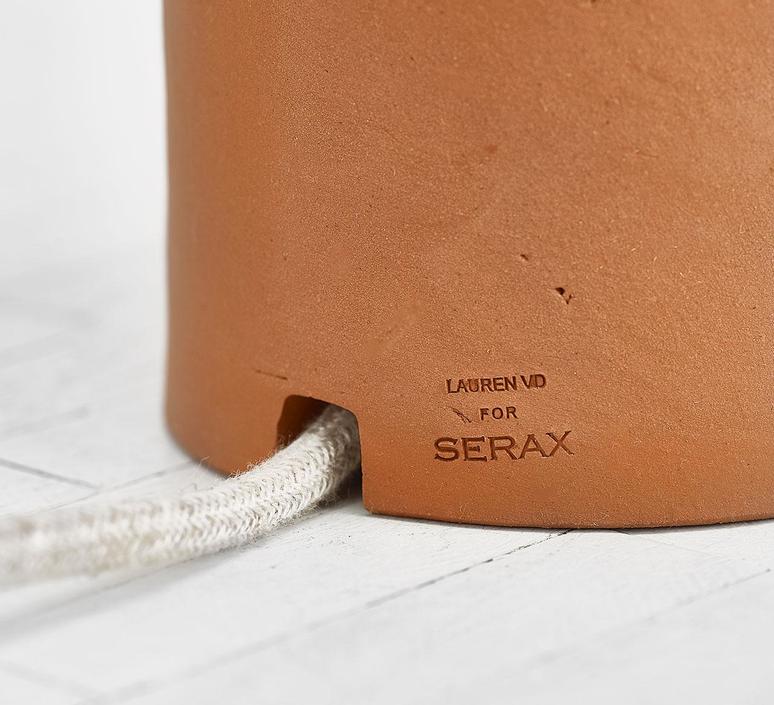 Terra light s lauren van driessche lampe a poser table lamp  serax b7218001  design signed 60049 product