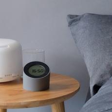 The edge light alarm clock  lampe a poser table lamp  gingko g001gy  design signed nedgis 125878 thumb