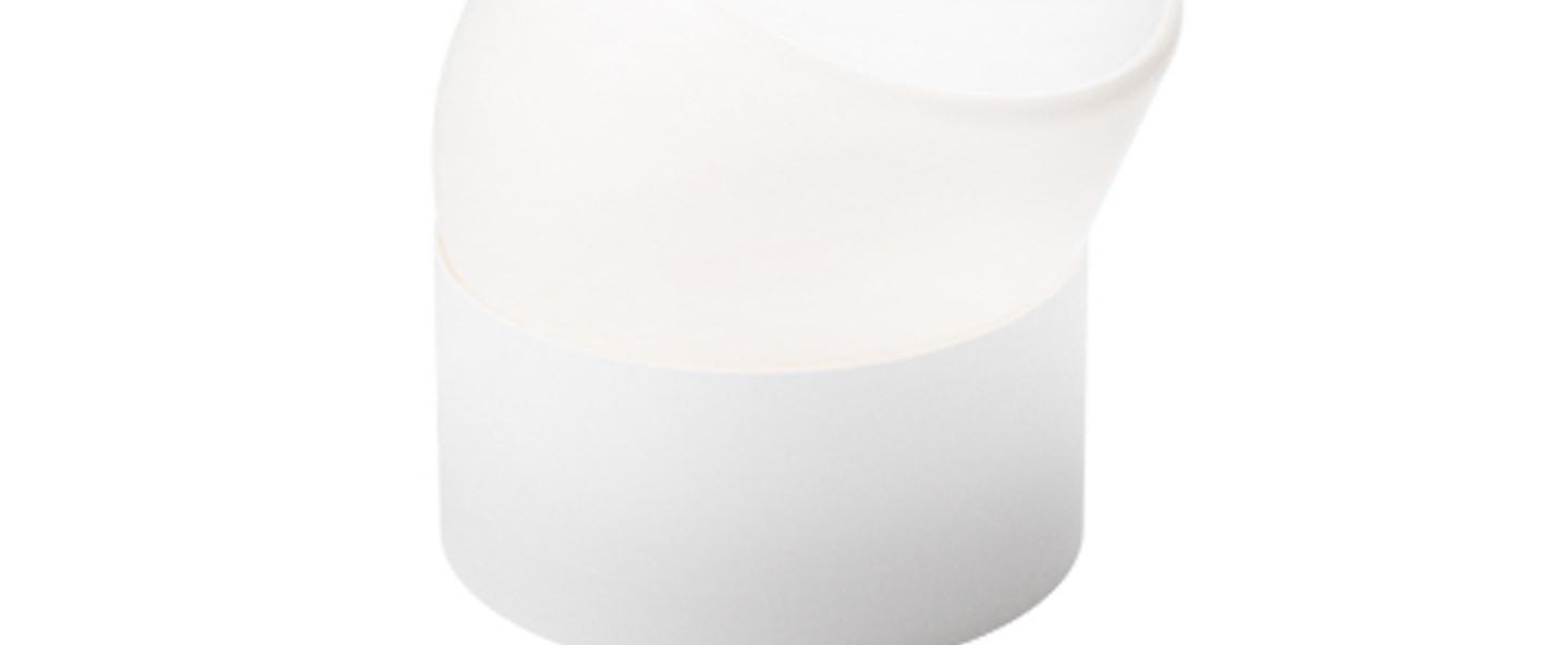 Lampe a poser the toddler blanc o12cm h15cm nordic tales normal