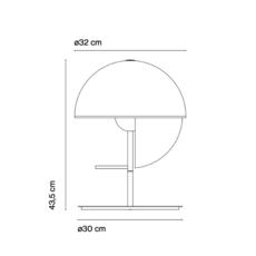 Theia m mathias hahn lampe a poser table lamp  marset a672 001   design signed 36630 thumb