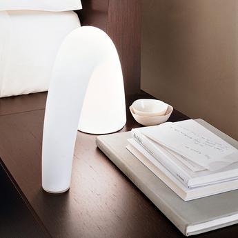 Lampe a poser thor blanc h20cm fontanaarte normal