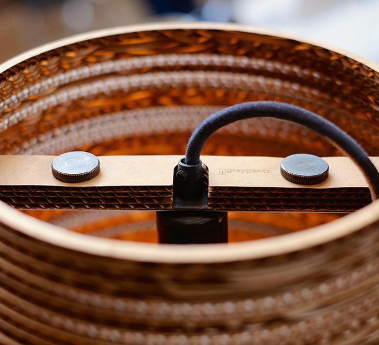 Lampe Graypants À Lampe À PoserTiltMarronH56cmØ34cm zLMVpUqSG