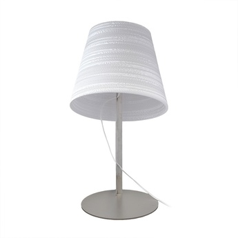 Lampe a poser tilt table blanc h24cm o34cm graypants normal
