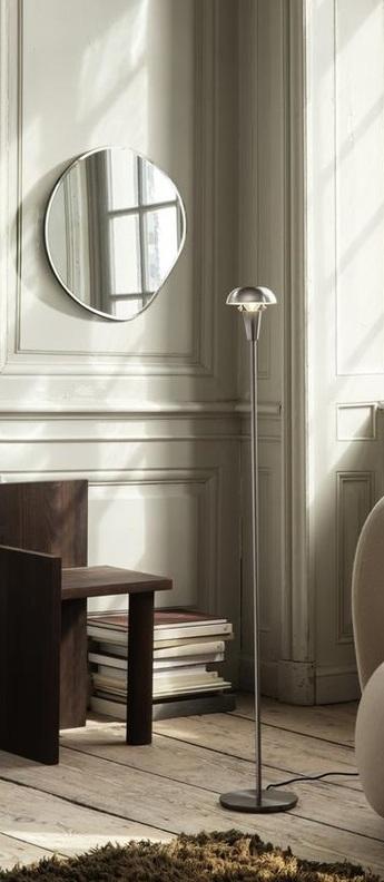 Lampe a poser tiny floor acier o12cm h124 2cm ferm living normal