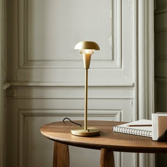 Lampe a poser tiny table lamp laiton o12cm h42 2cm ferm living normal