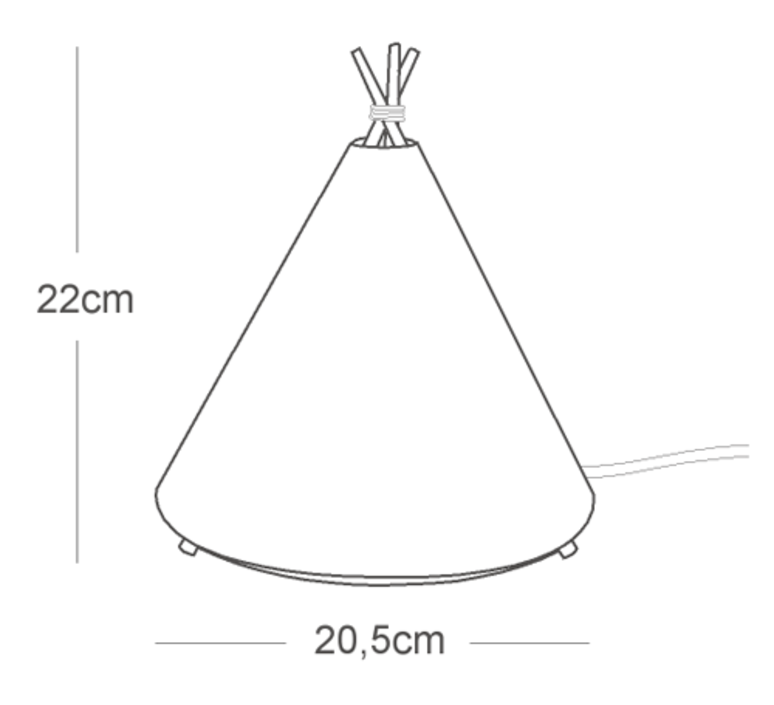 Tippi roberto celada et raquel esteve lampe a poser table lamp  buokids bktipi04  design signed 54145 product