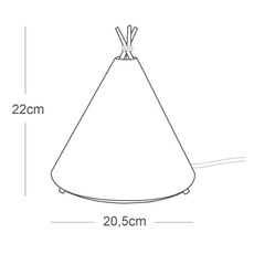 Tippi roberto celada et raquel esteve lampe a poser table lamp  buokids bktipi04  design signed 54145 thumb