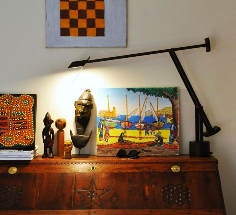 Tizio led richard sapper lampe a poser table lamp  artemide a009210   design signed 34602 product