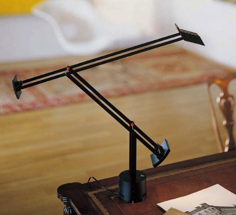 Tizio led richard sapper lampe a poser table lamp  artemide a009210   design signed 34604 product