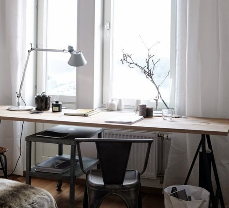 Table lamp Tolomeo Table LED aluminium dimmable H129cm